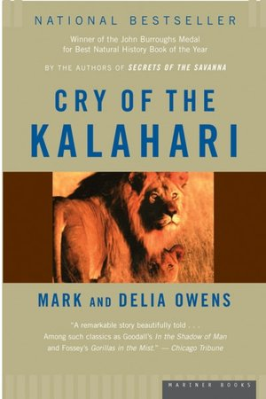 Download full books from google books free Cry of the Kalahari in English 9780395647806 by Cordelia Dykes Owens, Mark James Owens ePub PDB iBook
