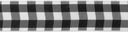 "Bold Check Ribbon 1-1/2"" 9 Feet-Black & White by Offray: Product Image"