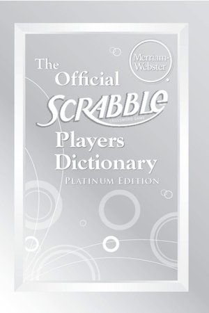 The Official SCRABBLE Players Dictionary, Platinum Edition