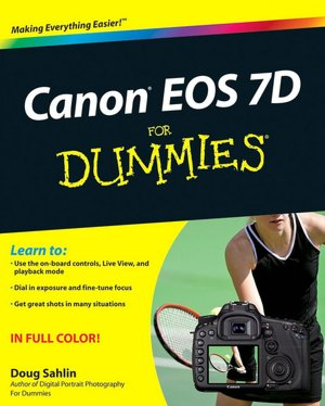Easy ebook download free Canon EOS 7D For Dummies by Doug Sahlin 9780470595916