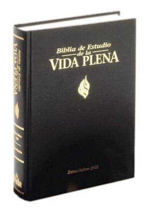 Biblia de Estudio de la Vida Plena: Reina-Valera 1960, piel especial negro, indice