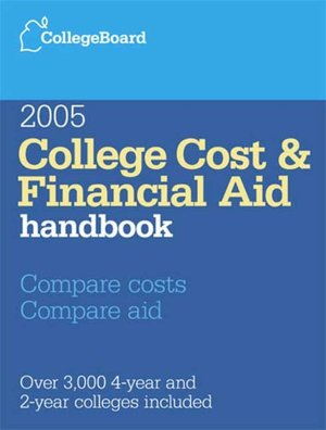 College Cost  Financial Aid Handbook 2005 cover