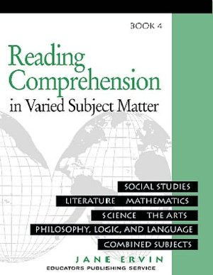Reading Comprehension in Varied Subject Matter Book 4
