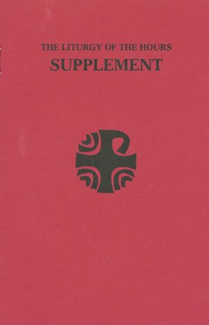 Liturgy of the Hours Supplement