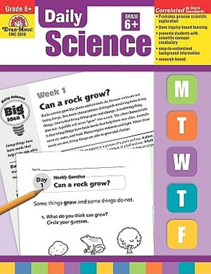 Ipod download audio books Daily Science, Grade 6+ by Evan-Moor Educational Publishers 9781596739307 MOBI (English literature)