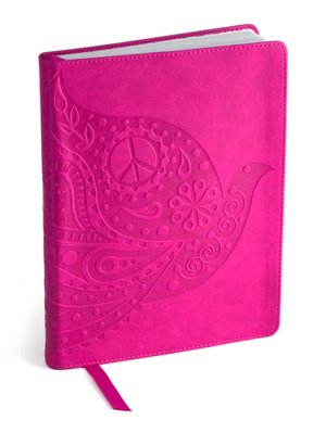 Jonathan Adler Love Dove Fuchsia Soft Journal (6