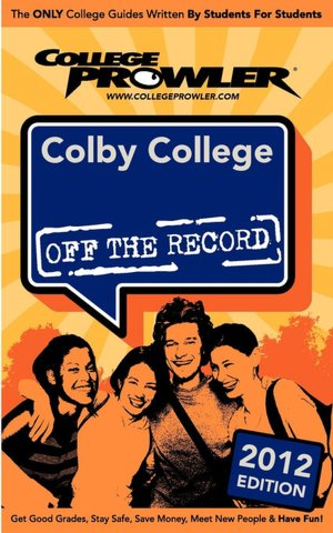 Colby College 2012 cover