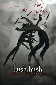 Hush, Hush by Becca Fitzpatrick: Book Cover