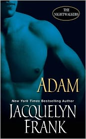 Adam (Nightwalkers Series #6) by Jacquelyn Frank: Book Cover