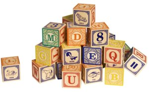 Classic Alphabet Blocks
