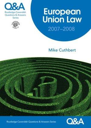 European Union Law QA 2005 2006 cover