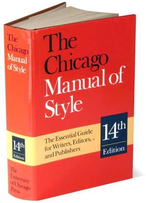 Chicago Manual Style Dissertation