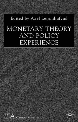 Monetary Theory and Policy Experience cover