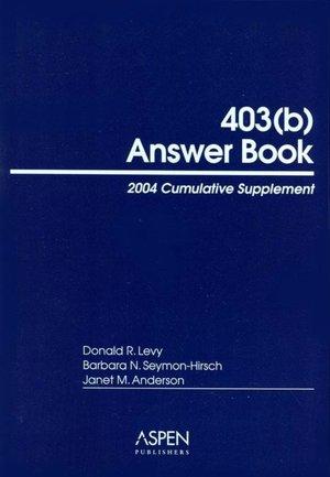 403b Answer Book 6E 2004 Cumulative Supplement cover