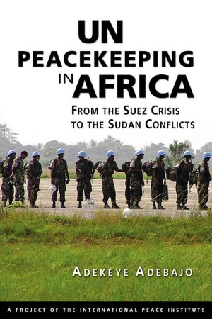 UN Peacekeeping In Africa - Book Cover