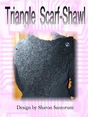 Free Crochet Pattern: Homespun® Easy Triangle Shawl