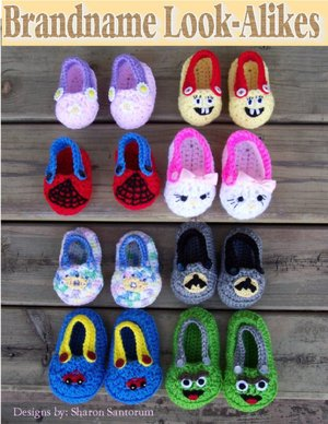 """slipper crochet pattern"" - Shopping.com - Shopping Online at"