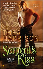 Serpent's Kiss (Elder Races Series #3) by Thea Harrison: Book Cover