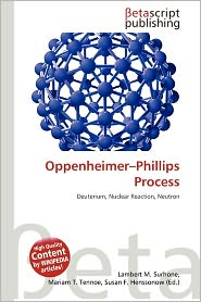 BARNES & NOBLE | Oppenheimer-Phillips Process by Lambert M ...