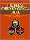 Reese Chronological Bible: King James Version (KJV), brown hardcover