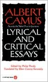 Free books public domain downloads Lyrical and Critical Essays RTF ePub 9780394708522 (English literature)