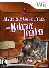 Online Game, Online Games, Video Game, Video Games, Nintendo, Wii, Nintendo Mystery Case Files: The Malgrave Incident