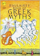D'Aulaires' Book Of Greek Myths (Turtleback School & Library Binding Edition) by Ingri D'Aulaire: Book Cover