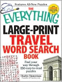 The Everything Large-Print Travel Word Search Book by Charles Timmerman: Book Cover