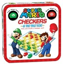 Super Mario Checkers &amp; Tic Tac Toe Collector's Edition by USAOPOLY: Product Image