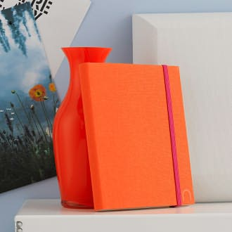 Madeleine Cover in Tangerine