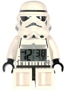 LEGO Star Wars Storm Trooper minifigure clock by Clic Time LLC: Product Image