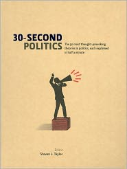 30-Second Politics by Steven L. Taylor: Book Cover