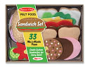 Felt Food - Sandwich Set by Melissa & Doug: Product Image