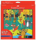 Color by Number Forest Friends by A.W. Faber-Castel USA: Product Image