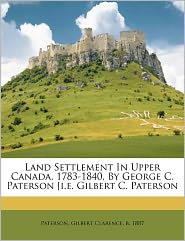 Upper Canada Land Settlement | RM.