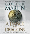 A Dance with Dragons (A Song of Ice and Fire #5) by George R. R. Martin: CD Audiobook Cover