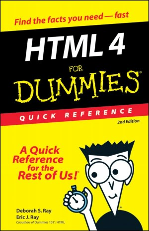 HTML 4 For Dummies: Quick Reference