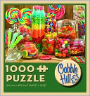 Candy Jars 1000 Piece Puzzle by Outset Media: Product Image