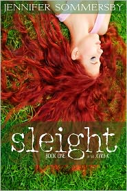Sleight: Book One of the AVRA-K by Jennifer Sommersby: NOOK Book Cover