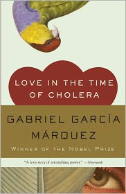 Love in the Time of Cholera by Gabriel Garca Mrquez: Book Cover