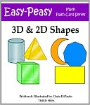3D & 2D Shape Flash Cards by Chris DiPaolo: NOOK Book Cover