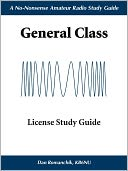 The No-Nonsense, General Class License Study Guide by Dan Romanchik: NOOK Book Cover