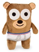 Bear in Underwear Doll by MerryMakers, Inc.: Product Image