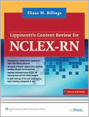 Lippincott's Content Review for NCLEX-RN by Diane M. Billings: Book Cover