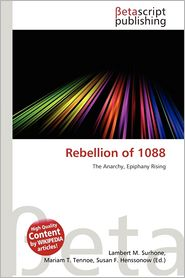 BARNES & NOBLE | Rebellion of 1088 by Lambert M. Surhone | Paperback