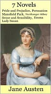 Jane Austen Collection by Jane Austen: NOOK Book Cover