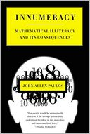 Innumeracy by John Allen Paulos: NOOK Book Cover