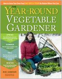 The Year-Round Vegetable Gardener by Niki Jabbour: Book Cover