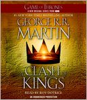 A Clash of Kings (A Song of Ice and Fire #2) by George R. R. Martin: CD Audiobook Cover