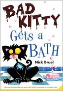 Bad Kitty Gets a Bath by Nick Bruel: NOOK Kids Cover